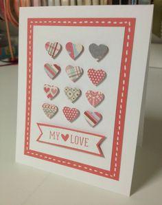 My Love Handmade Card by SorellaCards on Etsy, $3.00