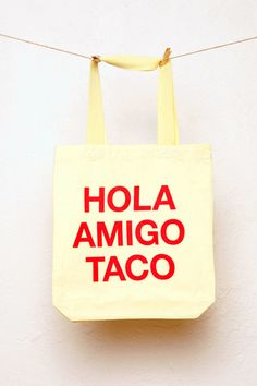 Sweet Talker, Taco, Reusable Tote Bags, Lifestyle