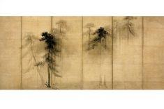 Innovative creativity from PaperArtsy. Japanese Painting, Japanese Art, Japanese Screen, Sumi Ink, Chinese Style, Installation Art, Asian Art, Art Decor, Oriental