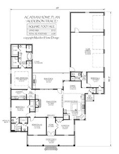 Acadian house plans click for free pdf house plan cut for Small acadian house plans