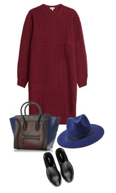 """knit dress"" by ecem1 ❤ liked on Polyvore featuring Kenzo, Miu Miu, CÉLINE and Forever 21"