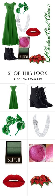 """A Christmas Carol: Chorus 2"" by kamurinji ❤ liked on Polyvore featuring Zimmermann, Vjera Vilicnik, Surratt and Threshold"