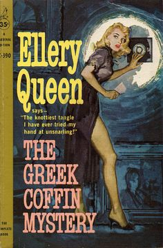 The Greek Coffin Mystery (1960) by Vintage Book and Pulp Magazine Covers, via Flickr