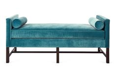 Andrew Day Chaise will be reupholstered in Mayan Ikat Color Spree fabric in Sun by Company C @Company C  #DreamInColor