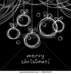 visit for more Vector Christmas doodle background. Christmas balls in hand drawn childish sketch style. Abstract linear black and white illustration on chalkboard with text box – stock vector Chalkboard Doodles, Chalkboard Drawings, Chalkboard Lettering, Chalkboard Designs, Hand Lettering, Chalkboard Ideas, Chalkboard Text, Chalkboard Paint, Christmas Balls