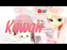 by request: We keep hearing how you guys LOVE our easy to make Box Rooms . so here is another Fabsome Kawaii style Doll Room in a Box! Support My Froggy S. My Froggy Stuff Videos, Barbie Room, Barbie 80s, Barbie Stuff, Barbie House, Doll Stuff, Barbie Furniture Tutorial, Myfroggystuff, Kawaii Room