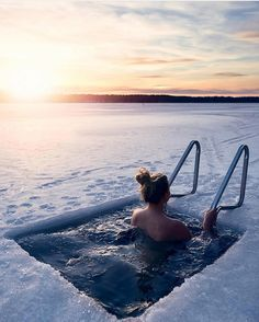 Winter swimming in Finland, a tradition to take seriously