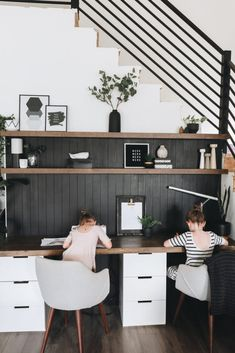 Editar la entrada < Eclecticmanía — WordPress Home Office Space, House Design, Homeschool Room Design, Room Design, Aesthetic Rooms, House, Home, Home Office Design, Home Decor