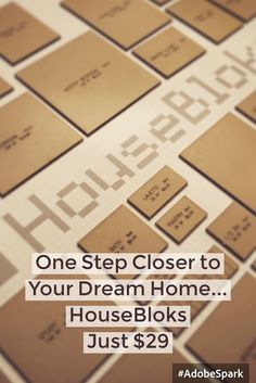 Order Yours Today!! Design Your Dream Home Tomorrow!! HouseBloks. Just $29. FREE Shipping.