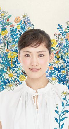 綾瀬はるか4 iPhone壁紙 Wallpaper Backgrounds iPhone6/6S and Plus Ayase Haruka Japanese Actress iPhone Wallpaper