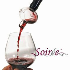 Soiree Wine Aerator *COMBO* with Wine Drop Stop by Soiree. $19.99. Reusable - After use simply rinse under the tap. DropStop® can be used for several years.. Compliments both red and white wines, by gently infusing them with Oxygen. You will receive (1) Soiree Wine Aerator *COMBO* with Wine Drop Stop. Simple to use, easy to clean, and expands the flavor of wine- instantly. Convenient and easy to use - just roll up the DropStop® and slip it into the neck of the ...