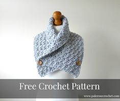 Crochet Patterns Galore - Crochet Cozy Cowl This cowl would keep my shoulders and neck warm on cold winter days and it is very pretty, too..