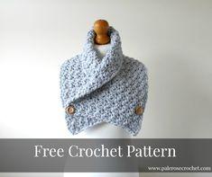 Crochet Cozy Cowl Pattern