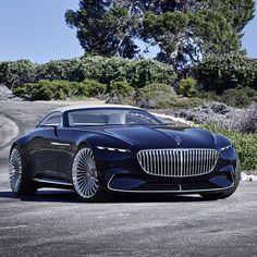 Mercedes-Maybach Vision 6 Cabriolet (Instagram @gorden.wagener)