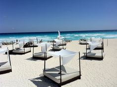 Gorgeous Beach at ME by Melia in Cancun, Mexico