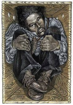"""BLACK HISTORY FACT: 1849 Henry """"Box"""" Brown mailed himself to freedom from Richmond, Virginia to the Anti Slavery Office in Philadelphia. The delivery took 26 hours and he later became a public speaker and abolitionist. African American History Month, African American Art, African History, American Artists, Black History Facts, Black History Month, By Any Means Necessary, Wow Art, African Diaspora"""