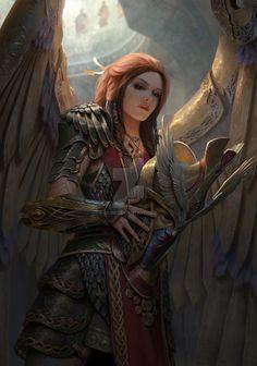 The Goddess Freya by B03DI