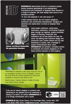 Leaflet for 100% Design Exhibition