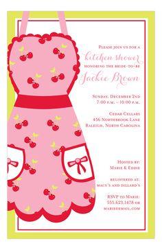 San Lori Invitations | Kitchen Shower Invitation | Polka Dot Design http://www.polkadotdesign.com/SanLori-Digital-Designs/SLDD-NP58-WEDD-12669/?utm_content=buffer2317a&utm_medium=social&utm_source=pinterest.com&utm_campaign=buffer #Kitchen #Shower
