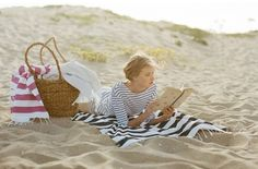 Reading on the beach...without the law books
