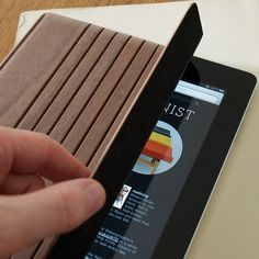 Fancy - Miniot Wood iPad Cover $89