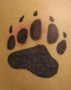 bear paw tatto | Nice Bear Paw Tattoo