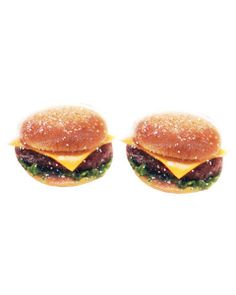 GLITTER BURGER EARRINGS What Is Fashion, Quirky Fashion, Jewelry Box, Jewelery, Jewelry Accessories, Ring Necklace, Glitter, Necklaces, Bracelets