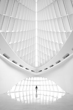 Milwaukee Art Museum designed by Santiago Calatrava. Treppen Stairs Escaleras repinned by www.smg-treppen.de #smgtreppen
