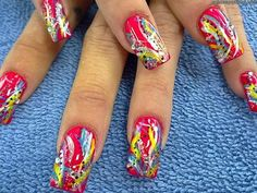 3 'Trendy' and Colorful Nail Designs | Nail Designs Mag