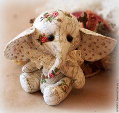 Купить Розовый слон - розовый, интерьерная кукла, интерьерная игрушка, интерьерное украшение, интересный подарок