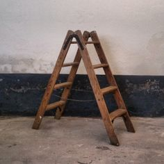 houten trapje