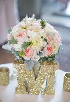 Wedding reception centerpiece idea; Featured Photographer: Stephanie Fay…