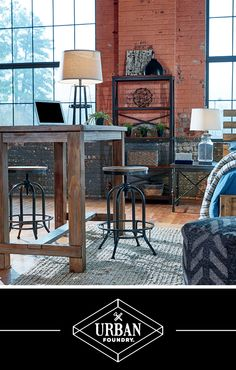 Urban Foundry™ - Urban, Layered, Eclectic and Rustic Home Furniture and Accessories - #AshleyFurniture