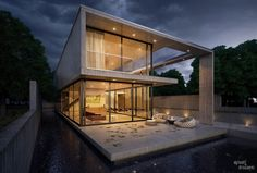 The Cresta by Jonathan Segal. Model and render created with 3D Studio Max + Vray.