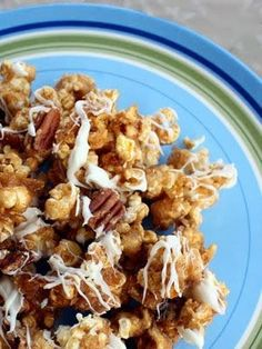 Pecans add just the right amount of crunch to this cinnamon-spiced popcorn recipe.Source: The Girl Who Ate EverythingGet the Recipe