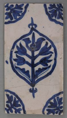 Turkish tile from the early 18th century | The Metropolitan Museum of Art