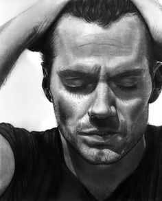 30 Amazing Pencil Drawings Henry Cavill - A pencil portrait of Henry Cavill. A great thing about pencil portraits is that the monochrome color adds to the dramatic effect which the artist wants to portray on the subject. Realistic Pencil Drawings, Pencil Drawing Tutorials, Amazing Drawings, Love Drawings, Bob Marley Desenho, Portrait Au Crayon, Pencil Portrait Artist, Colored Pencil Portrait, Monochrome Color