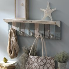Stay organized and stylish with our Blue Panels Wall Hook! Now on sale for $39.99 through 6/7.