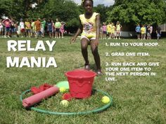 Kids Ministry 101 — GAME IDEA: Relay Mania