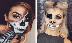 23 Cool Skeleton Makeup Ideas to Try for Halloween | Page 2 of 2 | StayGlam