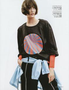 Vogue Russia Editorial July 2014 - Sam Rollinson by Jason Kibbler
