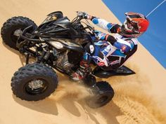 Day at the Beach, Spring Break - Yamaha Style                          We hit the Glamis Dunes on Yamaha's Sport ATVs      Written By:       John Arens