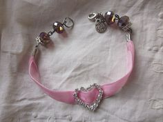 Wedding Bracelet Bridal Charm Bracelet Swarovski by JoieLaVie, $45.00