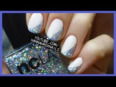 PROM or PARTY: Easy Glitter Nails - YouTube