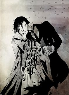 Sebastian Michaelis I'd so want to be that girl in his arms!