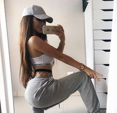 Designer Clothes, Shoes & Bags for Women Tumblr Outfits, Mode Outfits, Girl Outfits, Casual Outfits, Fashion Outfits, Womens Fashion, Lazy Fashion, Ootd Fashion, Unique Fashion