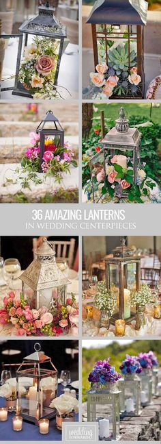 36 Amazing Lantern Wedding Centerpiece Ideas ❤ We propose to consider lantern wedding centerpiece ideas with candles or beautiful flowers inside