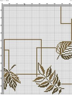 Cross Stitch Patterns, Hair Accessories, Leaves, Jewellery, Table, Cross Stitch Designs, Amethyst, Bench Seat, Towels