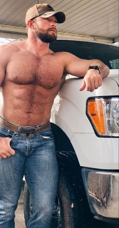 Hairy Hunks, Hunks Men, Hairy Men, Bearded Men, Hot Country Men, Hot Men Bodies, Scruffy Men, Beefy Men, Hommes Sexy