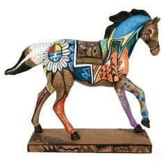 I love the Native American Trail of Painted Ponies collection.